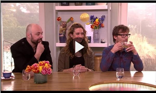 Giel Beelen en Niels Geusebroek over lyrics bij Koffietijd