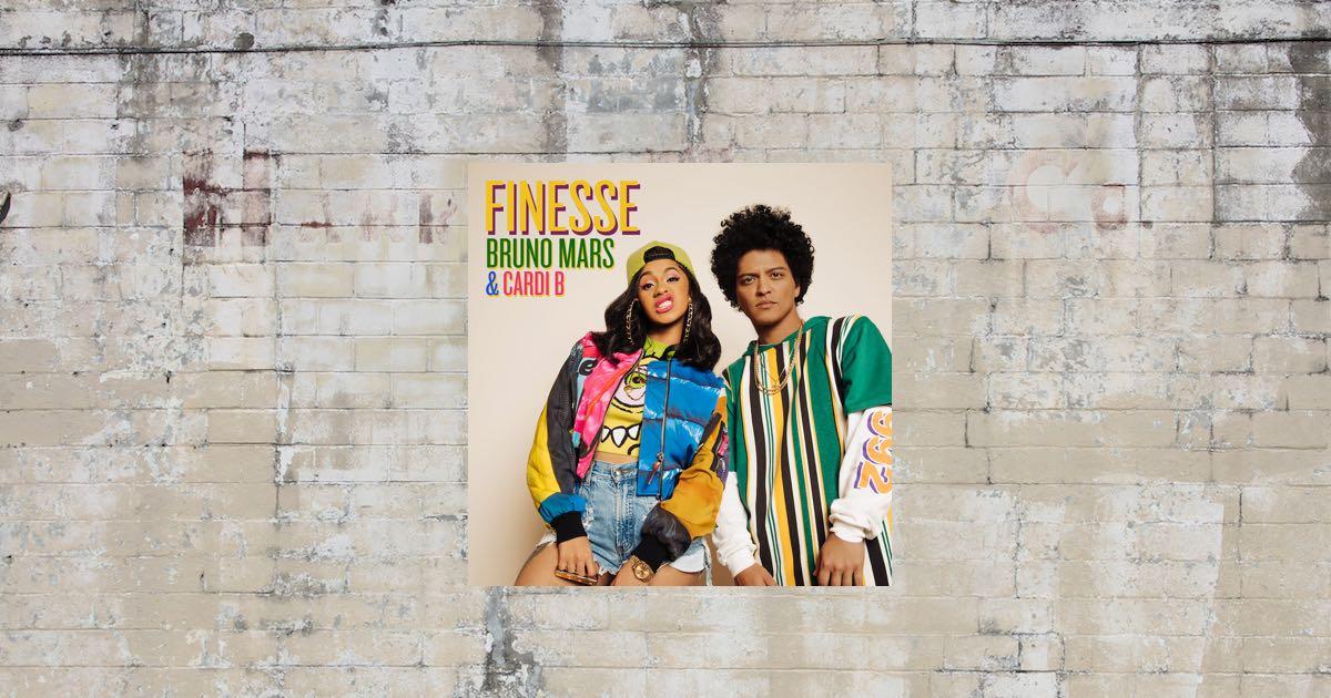 On Repeat: Finesse (Remix) van Bruno Mars en Cardi B