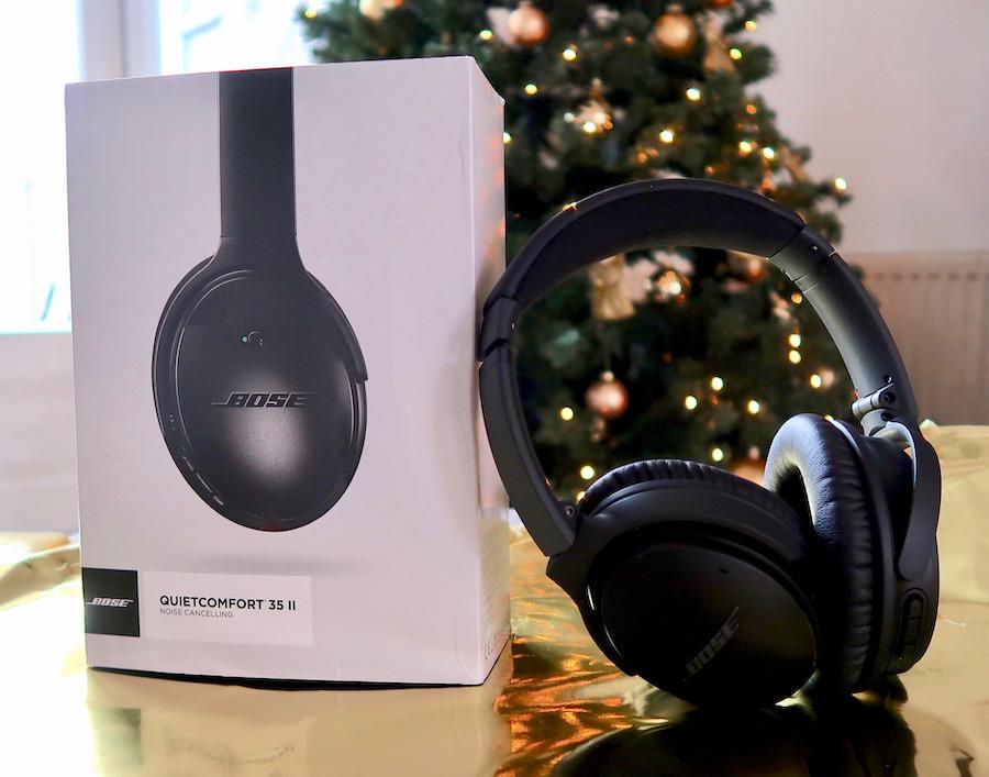 Deze Bose headphones zijn een mooi muziekcadeau voor onder de Kerstboom
