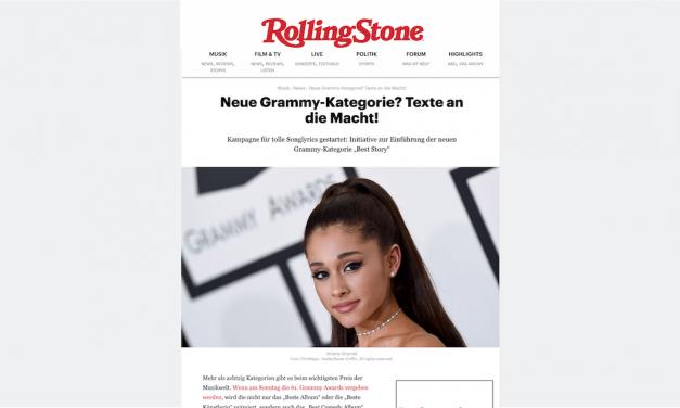 Rolling Stone besteedt aandacht aan de campagne van Nolala